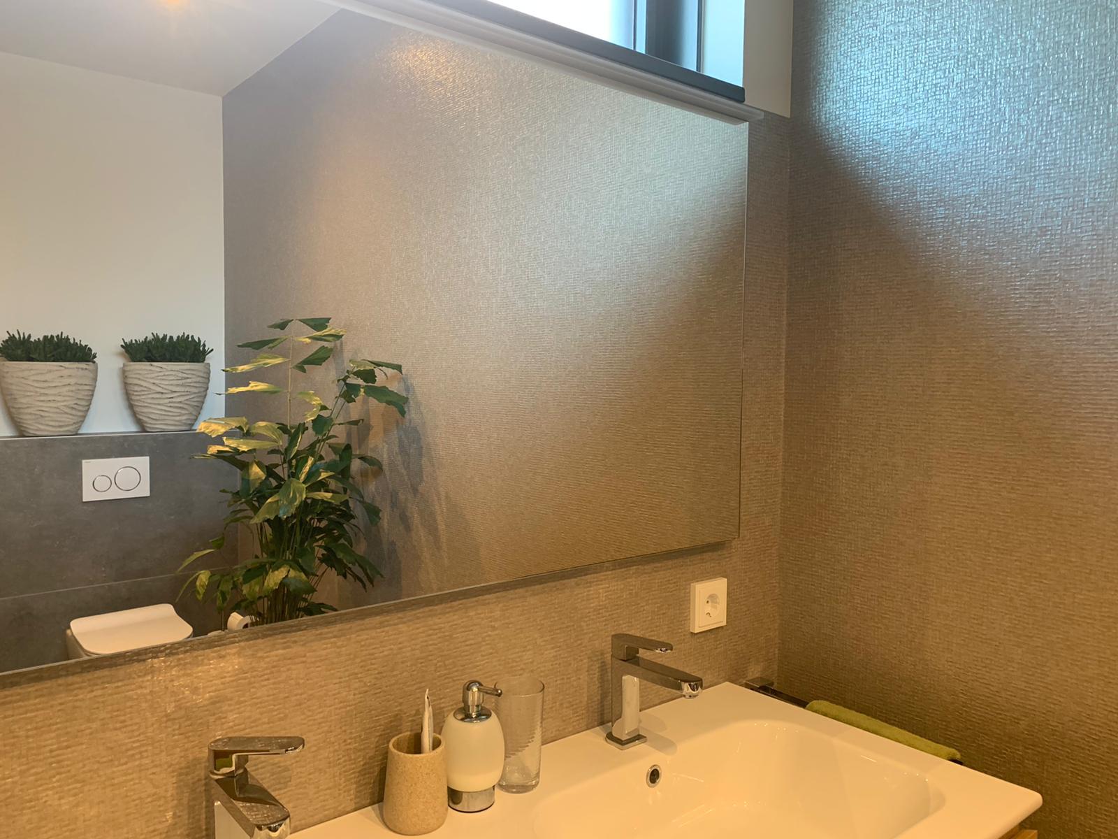 Behangwerken badkamer